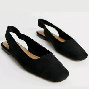 ASOS Designs Lorraine Slingback Ballet Flats